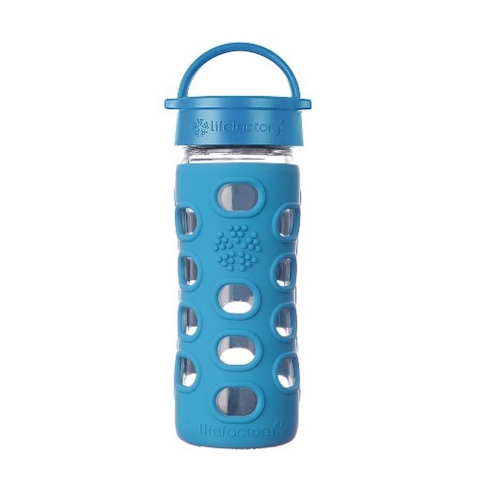 【セール実施中】【送料無料】LIFEFACTORY ライフファクトリー グラスボトル フリップキャップ 350mm LIFE129202
