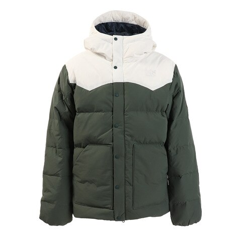eday down parka 3D11MAI1-Green/White