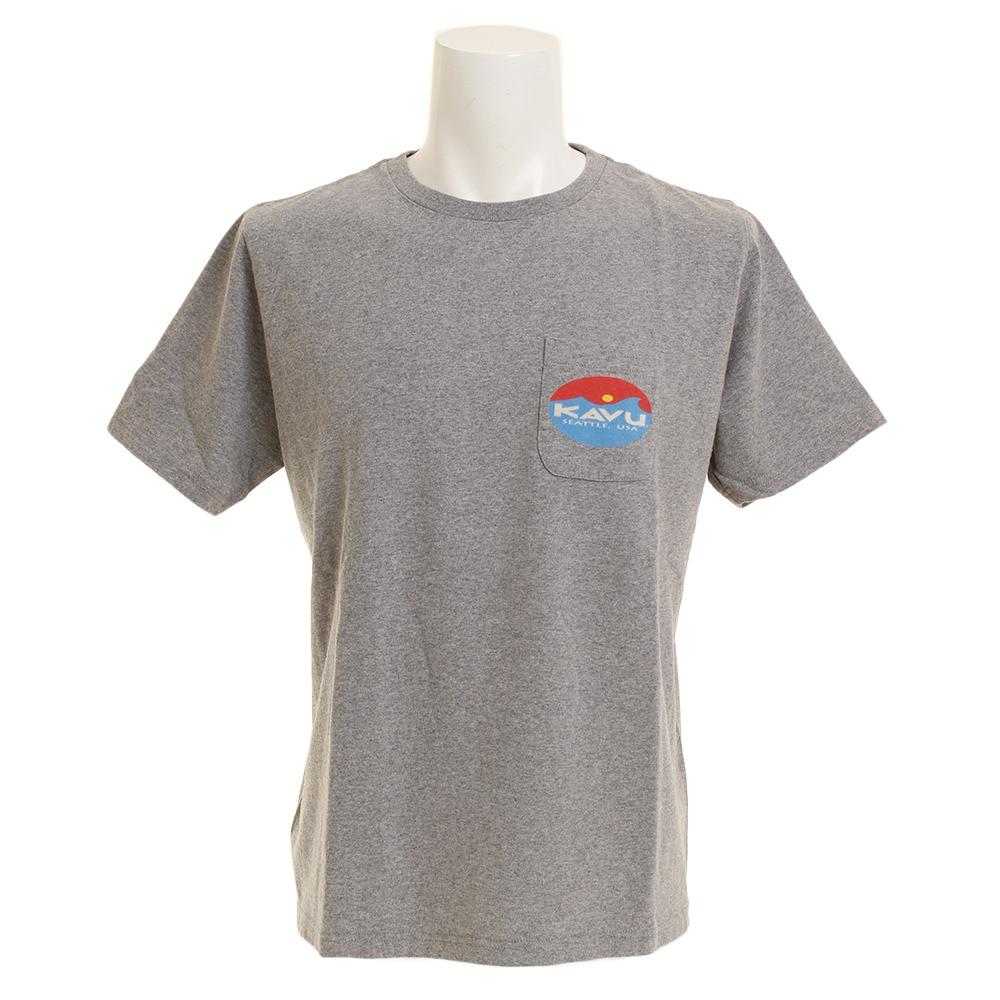 【セール実施中】【送料無料】サーフロゴT Gy L メンズ 半袖Tシャツ 19820423023007