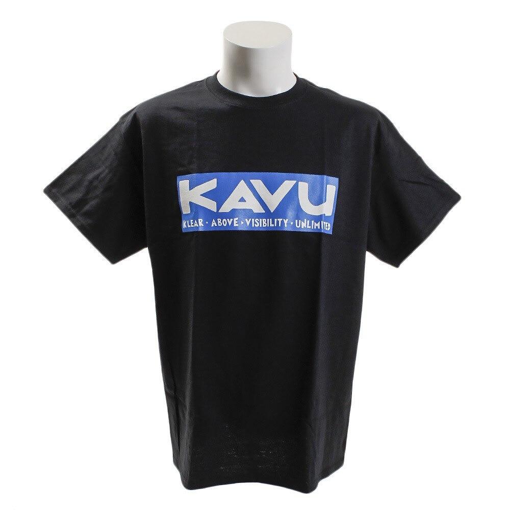 【セール実施中】【送料無料】スクエアロゴT Bk L メンズ 半袖Tシャツ 19820624001007