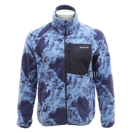 MENS FREECE JACKET WEFDAT01 BLU フリースジャケット