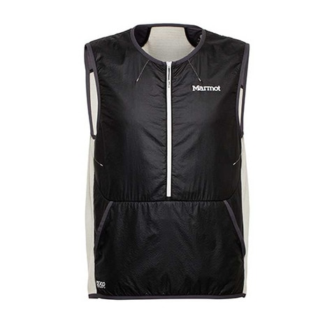 POLARTEC ALPHA POWER GRID VEST メンズ 中綿ベスト MJM-S7007 BLK