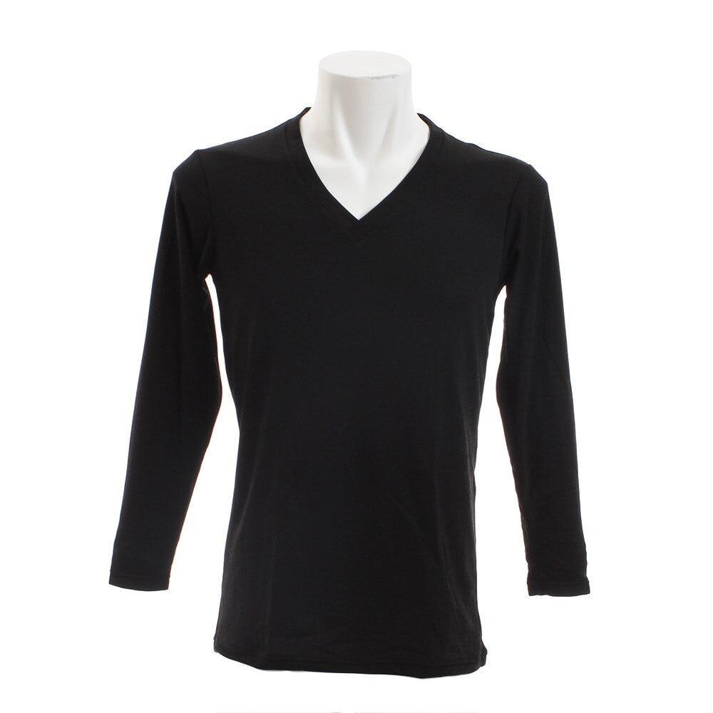 【セール実施中】【送料無料】ブレスサーモ エブリプラス Vネック長袖シャツ C2JA664109