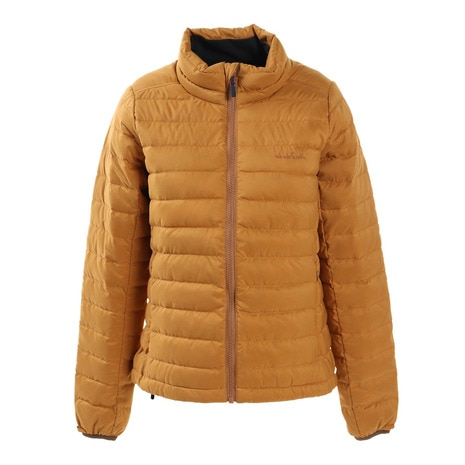 WOMENS LIGHT DOWN JACKET WE28HL18キャメル