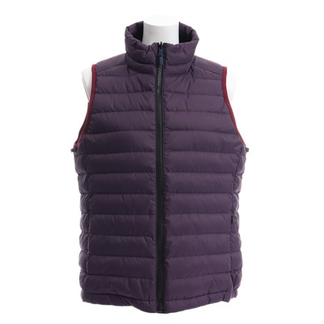 WOMENS LIGHT DOWN VEST WE28HK19パープル