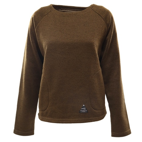 BOATNECK FLEECE LADY B-BF-FL-OLV-MD