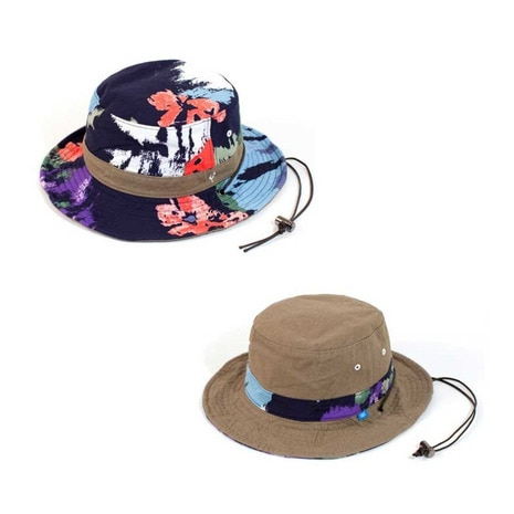 REV. CAMOFLOWER HAT ハット 帽子 RB3473 NAVY