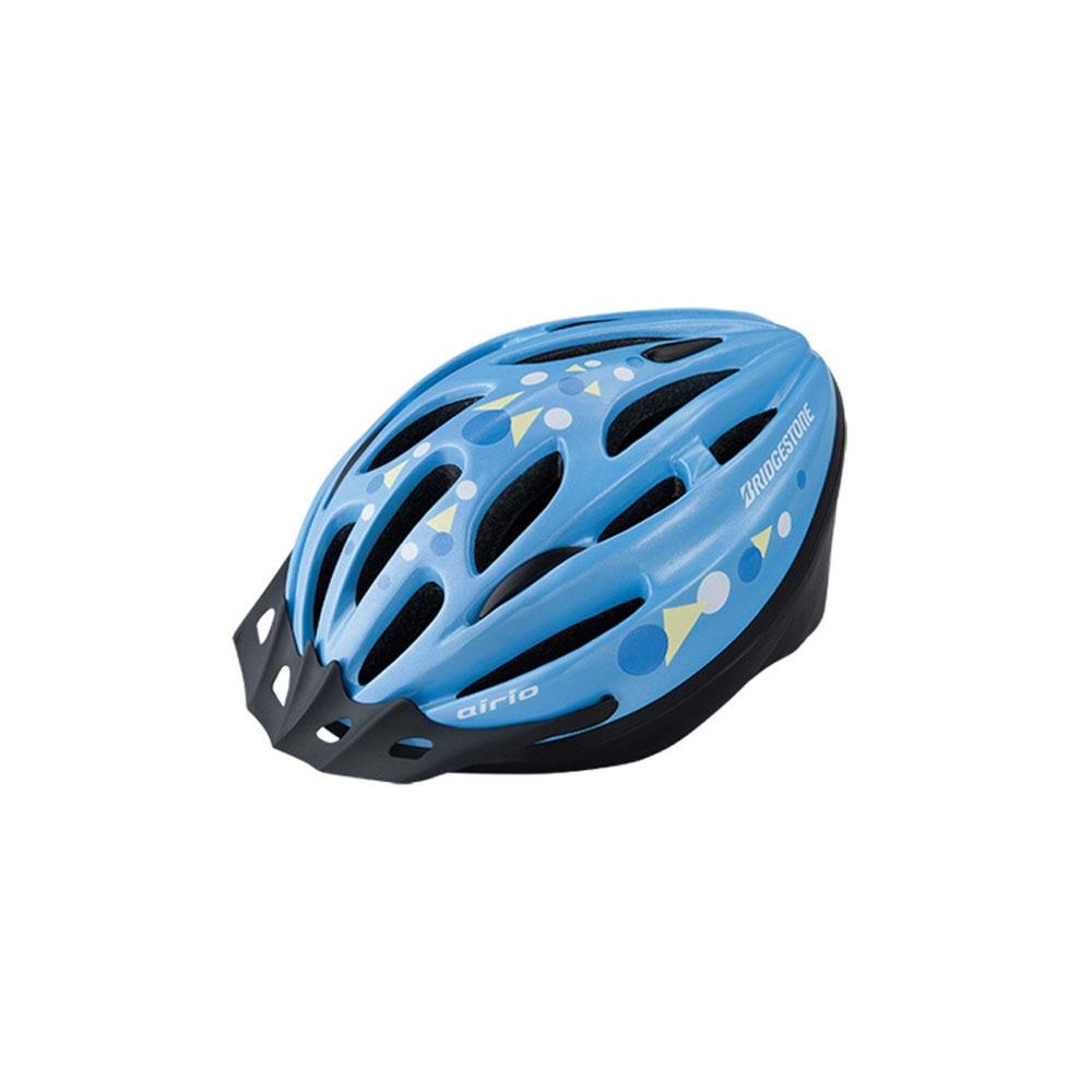 【セール実施中】【送料無料】airio エアリオ ヘルメット CHA5456 Mサイズ ジュニア 子供用 自転車 ヘルメット B371300 LB ブルー