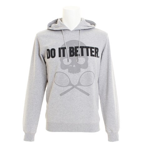 DO IT BETTER ロゴパーカー T00088GREY