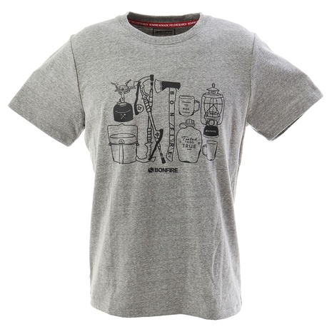 CAMPERS ショートスリーブTシャツ 50BNF9SCD2034 GRY