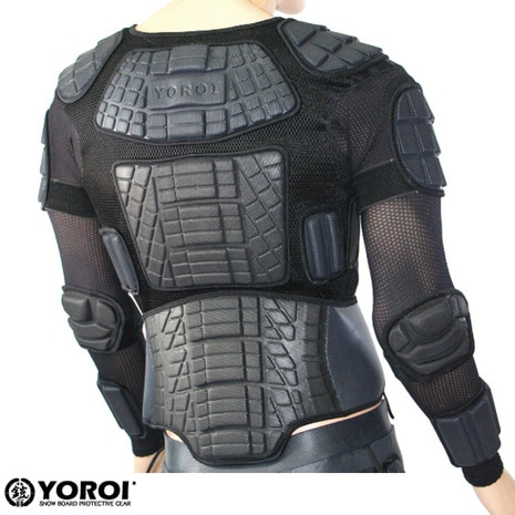 ヨロイ 鎧 YOROI FITTER JACKET (NJB) YR035 WOMAN'S プロテクター