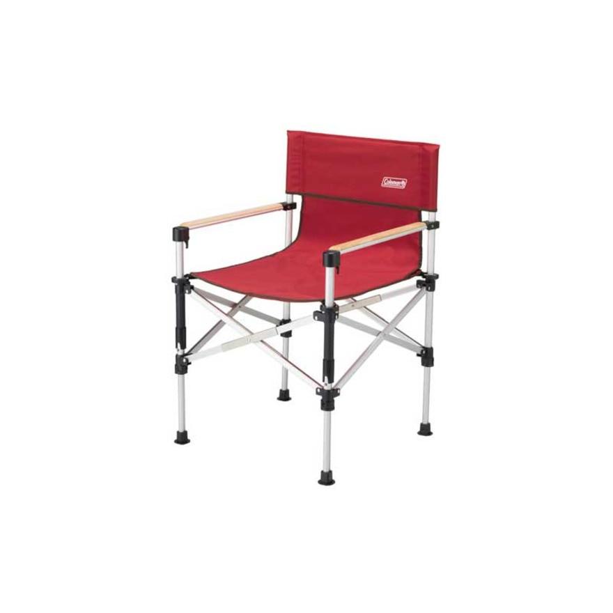 <エルブレス> ツーウェイキャプテンチェア 折りたたみ椅子 2000031282 レッド画像