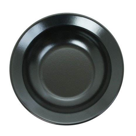 ホーロー食器 DEEP PLATE PC-002 BLACK
