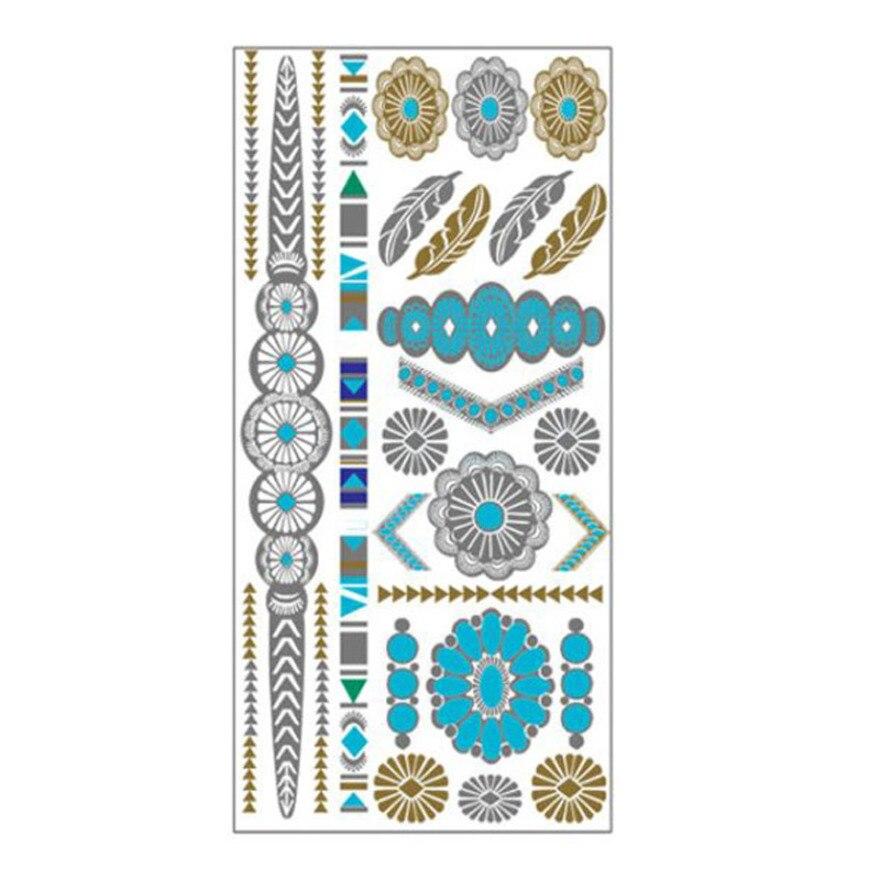 【セール実施中】チャイハネ CAYHANE メタリックタトゥーミサンガ タトゥーシール CKOZ5210