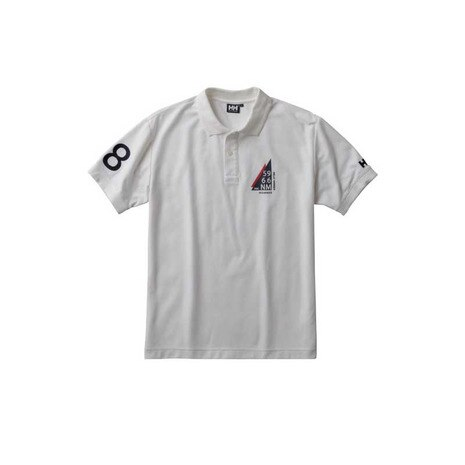 S/S FLAG POLO メンズ 半袖ポロシャツ HH31730 W