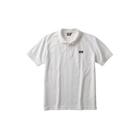 S/S HH LOGO POLO メンズ 半袖ポロシャツ HH31731 W