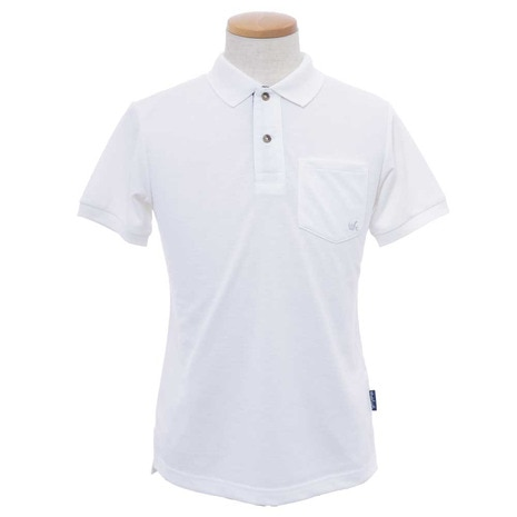 MENS ESSENTIAL SOLID POLO メンズ 半袖ポロシャツ WES17M02-5717 OWHT