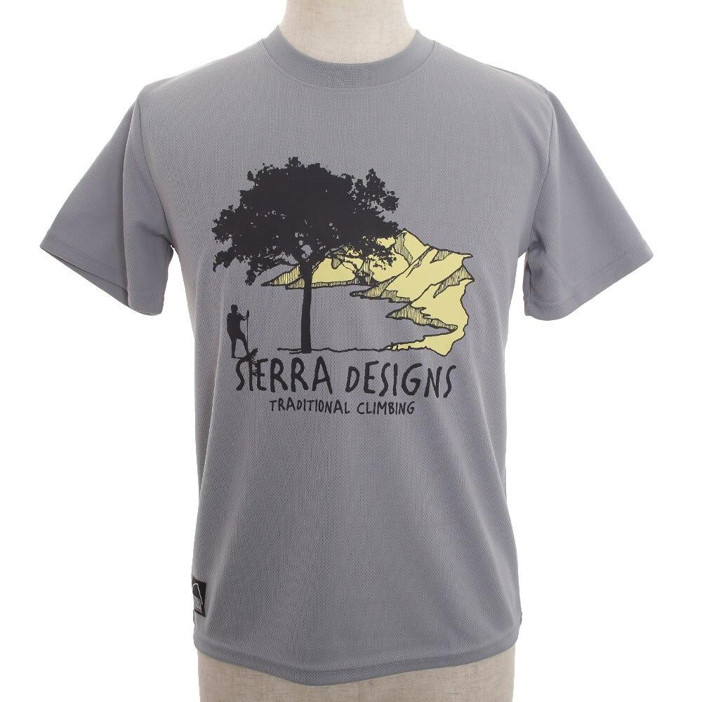 【セール実施中】【送料無料】シェラデザインズ SIERRA DESIGNS ボウブン ツリー S/S Tシャツ 10993142-54 GRAY
