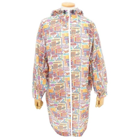 BOOBY FACE PONCHO PRINT ポンチョ 雨具 レインウエア CH04-1068 Z075