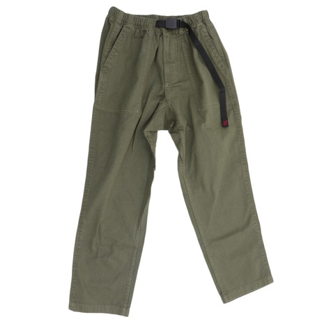 LOOSE TAPERED PANTS GUP-17F001 OLIVE