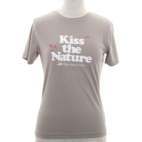 ロウアルパイン KISS THE NATURE TEE W LSW13030 BEIGE