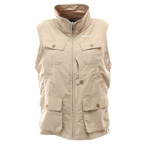 WOMENS UTILITY POCKETABLE VEST レディース ベスト WES17W02-5102 KHK