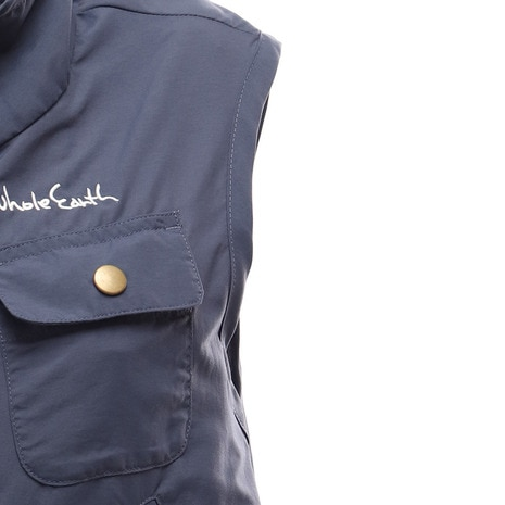 WOMENS UTILITY POCKETABLE VEST レディース ベスト WES17W02-5102 NVY