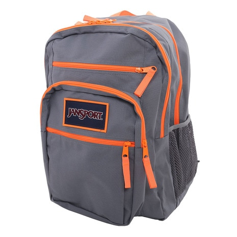 BIG STUDENT OVEREXPOSED T75K-0CT Shady Grey/Fluorescent Orange