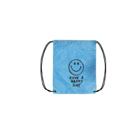 KNAP SACK SMILE LIGHT BLUE ナップサック 16498