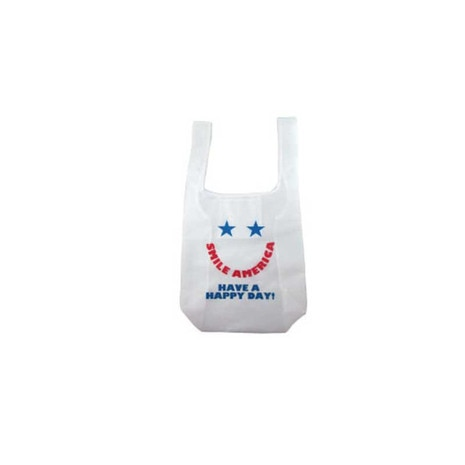 ECO BAG SMILE AMERICA エコバッグ 16597
