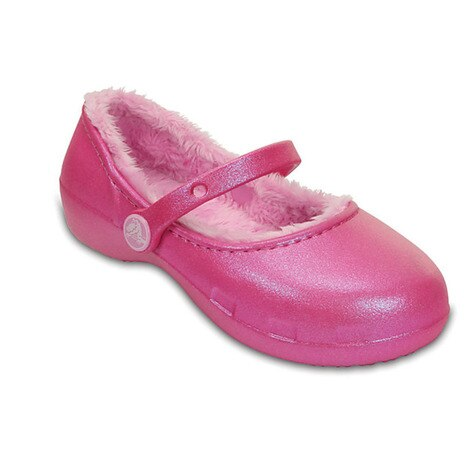 CROCS KARIN LINED CLOG KIDS クロッグ サンダル 203512