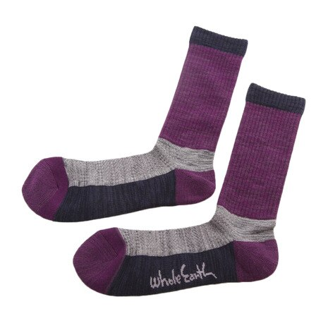 MID WEIGHT COMFORT SOCKS ソックス 靴下 WES17F03-7301 PUR