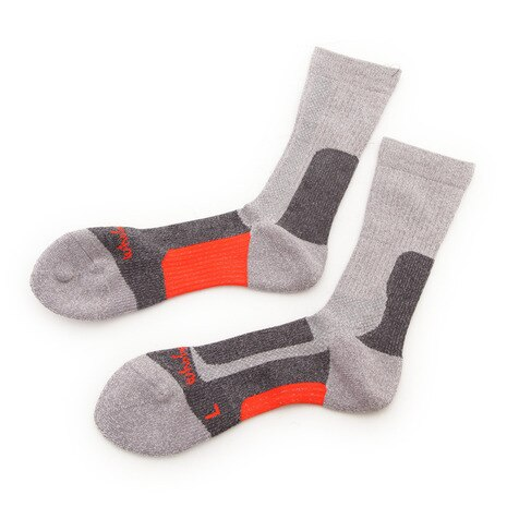 MID WEIGHT COMFORT SOCKS ソックス 靴下 WES17F03-7302 GRY