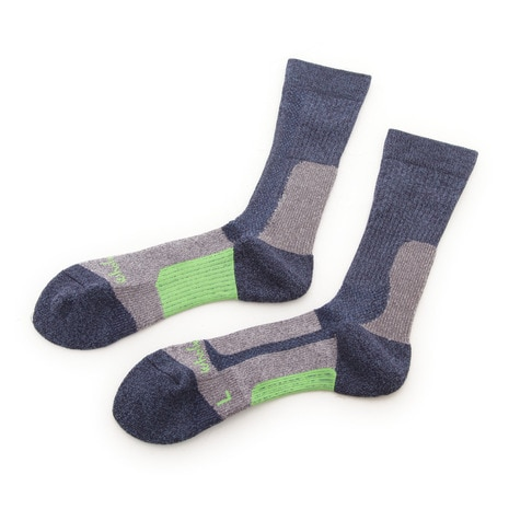 MID WEIGHT COMFORT SOCKS ソックス 靴下 WES17F03-7302 NVY