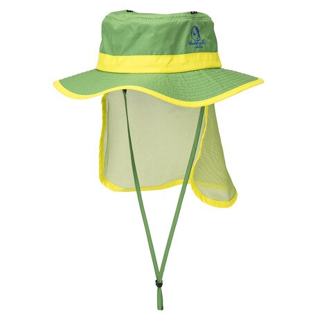 KIDS SUNSHADE HAT WE27FB61 グリーン