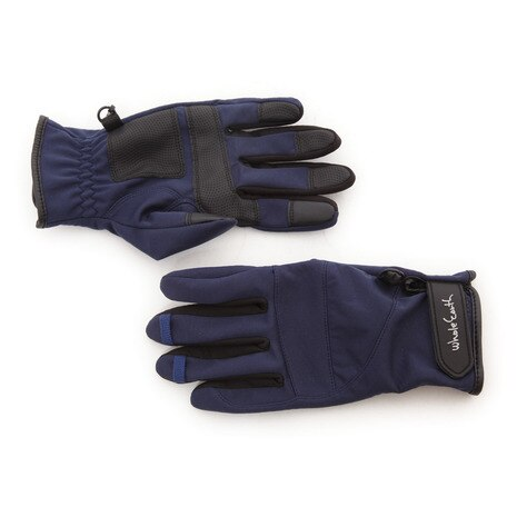 TREKKING WB GLOVE トレッキンググローブ WES17F03-7201 NVY