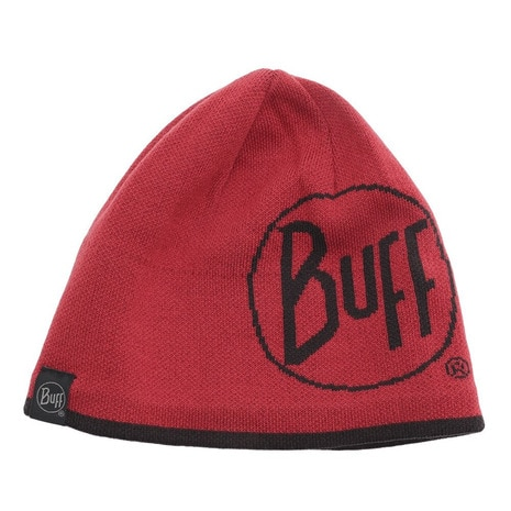 KNITTED & POLAR HAT LOGO RED @111000.425.10