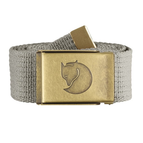 Canvas Brass Belt 4cm 77297-021 Fog ベルト