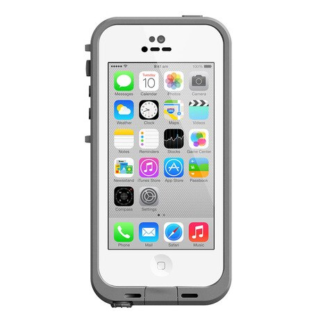 LIFEPROOF iPhone5c Case White