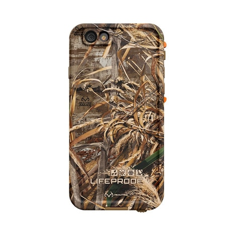 LIFEPROOF fre Realtree for iPhone 6 Orange/Max-5