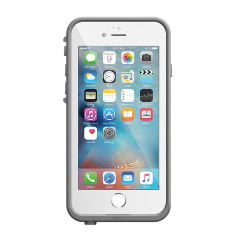 LIFEPROOF fre for iPhone 6 Plus/6s Plus Case White iPhoneケース 防水 防塵 耐衝撃