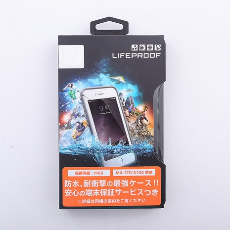 LIFEPROOF fre for iPhone 6/6s Case Avalanche White iPhoneケース 防水 防塵 耐衝撃