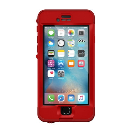 LIFEPROOF nuud for iPhone6s Case CAMPFIRE RED iPhoneケース 防水 防塵 耐衝撃