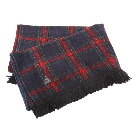 BLANKET CHECK RED ブランケット DF16A-BKBC-RED-F