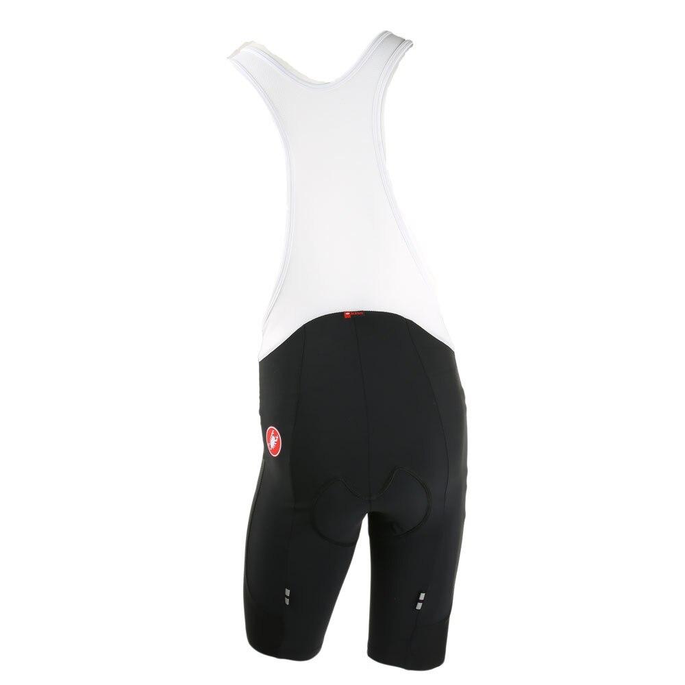 BLACK//RED Castelli 2019 EVOLUZIONE 2 Cycling Bib Shorts