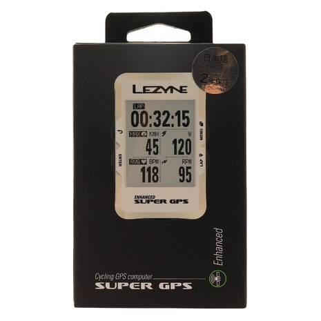 SUPER GPS CYCLE COMPUTERS 19 SE 57-3700211010 WHITE